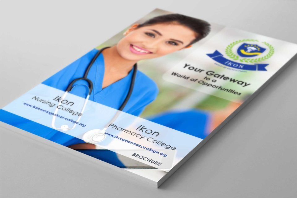 Pelwhiz Portfolio - IKON Pharmacy College - Prospectus or Brochure